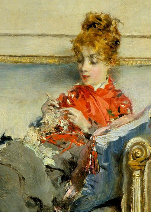 Giovanni Boldini, Peaceful Days, 1871. - to love many things