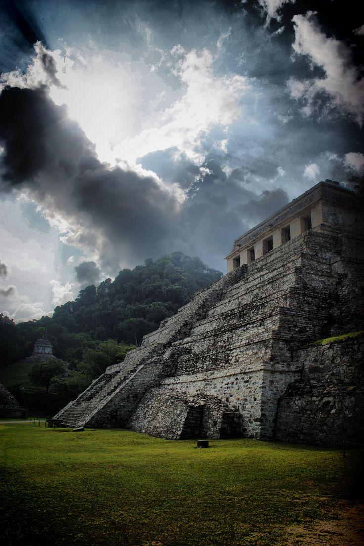Las Ruinas de Palenque los Mayas hogar de los Dioses