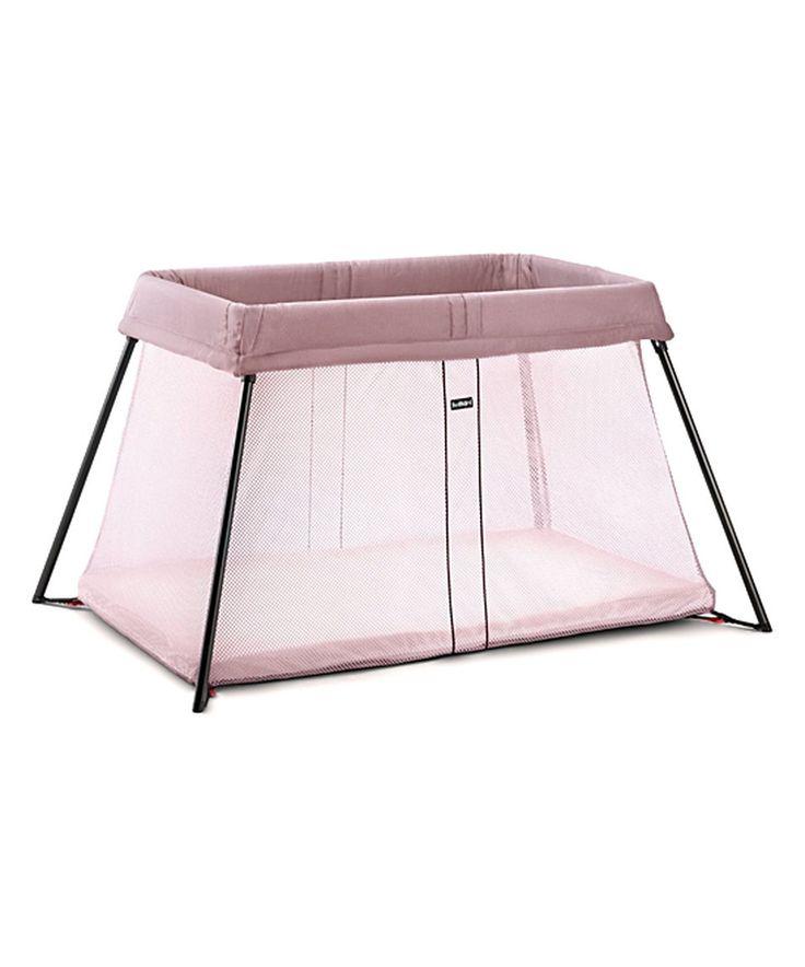 Look what I found on #zulily! Pink Light Travel Crib by BabyBjörn #zulilyfinds