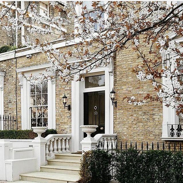 London house, spring