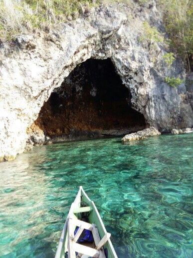 Caves around Batudaka island, Togian