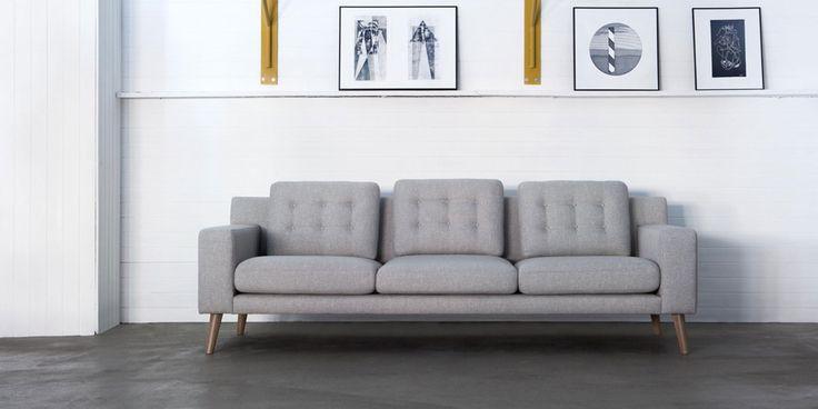 Sofa Axel marki Sits. Znajdź więcej na: www.euforma.pl #sofa #sits #livingroom #design #polishdesign