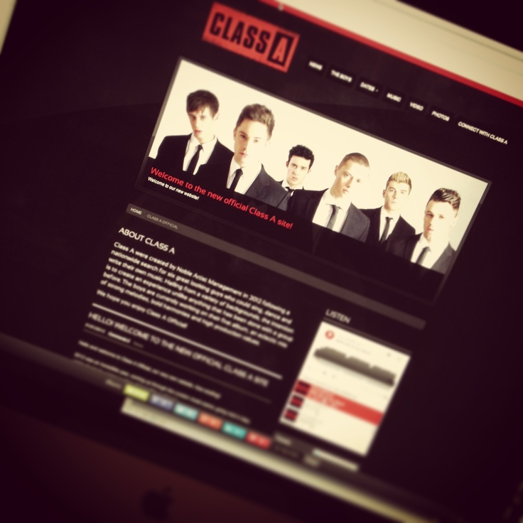 Loving our new website - check it out! www.classaofficial.com