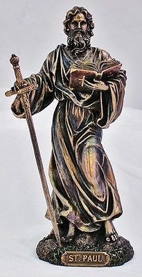 Apostle Saint Paul Statue - Veronese Collection
