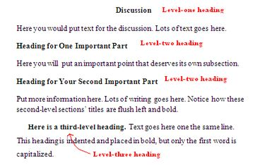 http://homeworktips.about.com/od/apastyle/ss/Apa-Formatting-For-Headings-And-Subheadings_2.htm