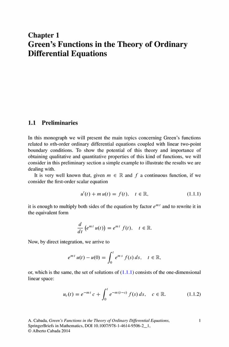 theory of ordinary differential equations pdf