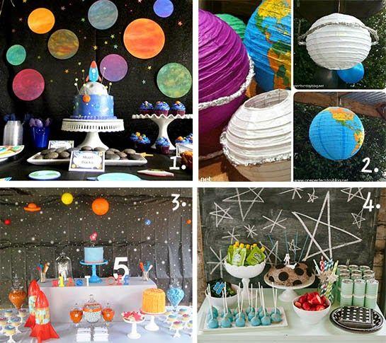 Fête una fiesta: la fiesta del astronauta - Preparación para despegar en una misión espacial muy especial !!