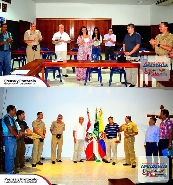 Los días 11 y 12 de abril se llevó a cabo en la ciudad de Leticia la 3ra campaña Binacional entre Colombia y Perú, de levantamiento, hidrografía, navegación, y adquisición de información del Río Amazonas en el sector de Leticia Atacuar