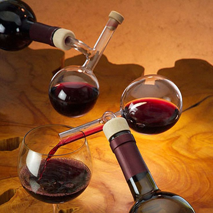 Handmade Glass Wine Decanter/Pourer - gifts for wine lovers in various price ranges