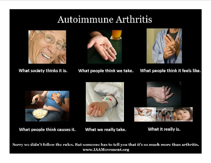 Autoimmune Arthritis Meme - RA Chicks, Rheumatoid Arthritis and Autoimmune Arthritis for rachicks.com
