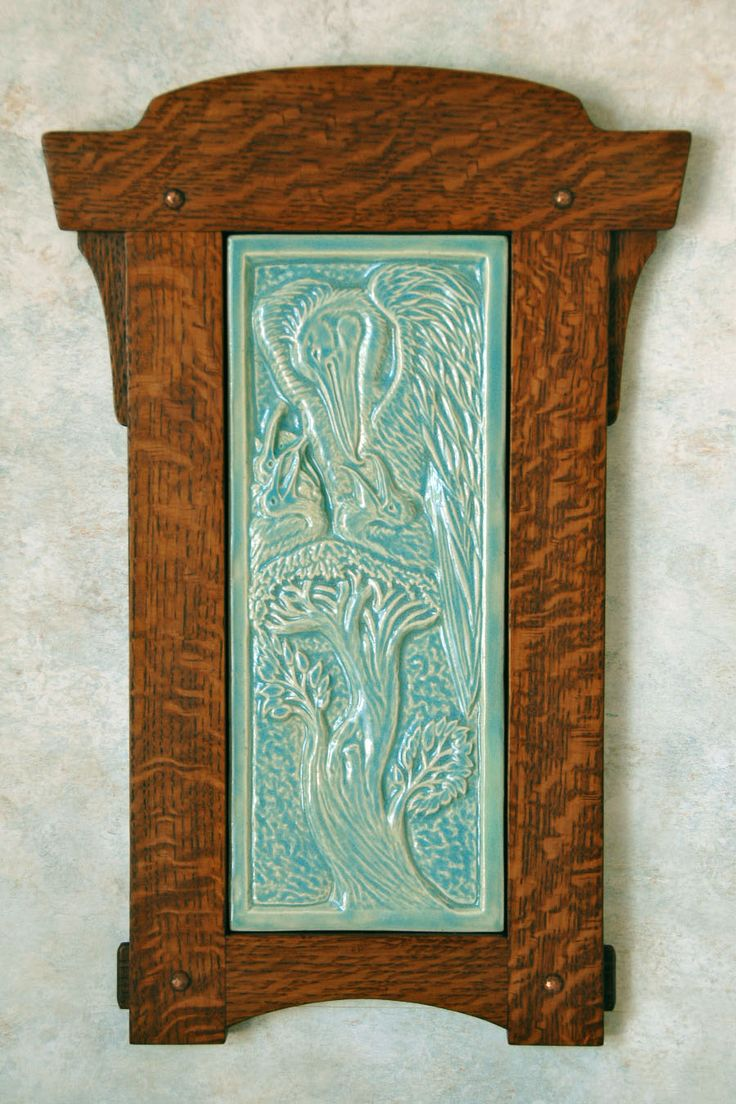 1000 ideas about ceramic tile art on pinterest art for Arts and crafts floor tile