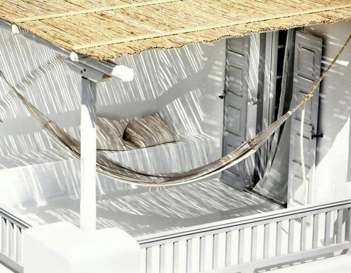A perfect veranda for summer siesta...