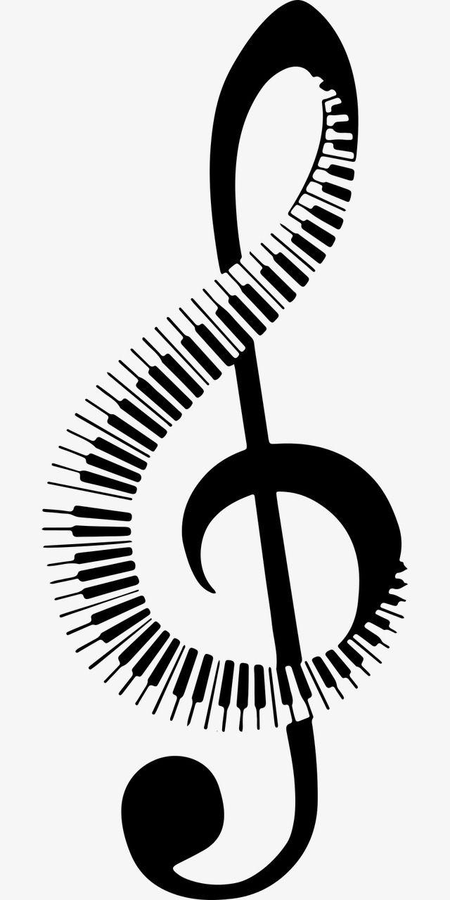 Musical Note Music Clipart Music Symbol Png Transparent Clipart Image And Psd File For Free Download Simbolos Musicais Arte Com Notas Musicais Musica E Arte
