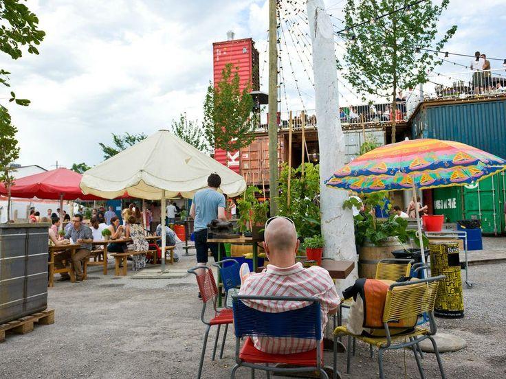 Frau Gerolds Garten Essen Trinken In Zurich Beer Garden Patio Umbrella Outdoor Decor