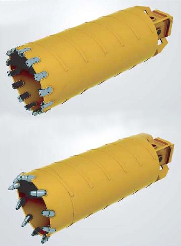 Core Barrel Used for kelly drilling in foundation technology http://goo.gl/Q9aFj3
