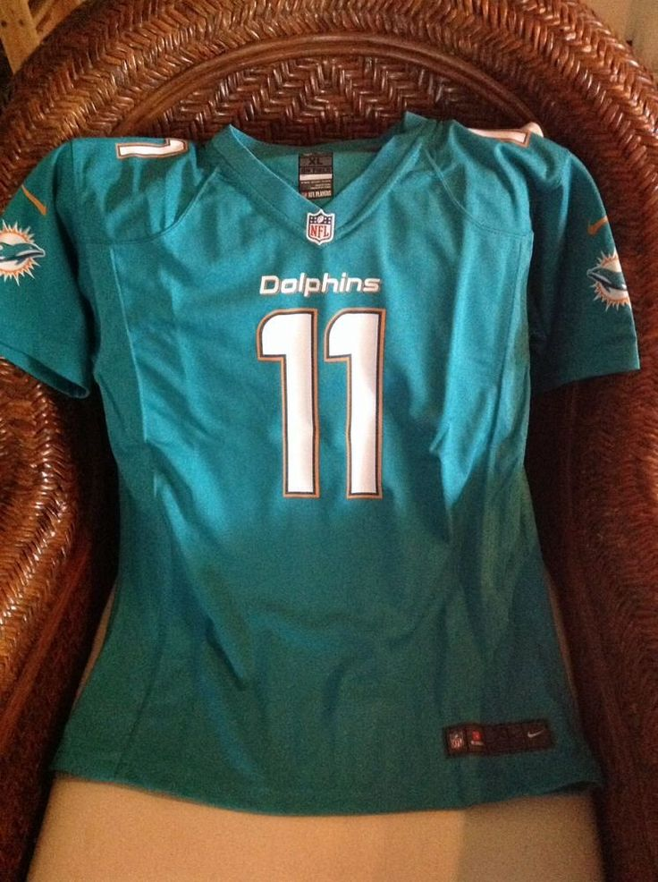 miami dolphins nfl jersey retail 100 mike wallace 11 white nwt size xl mens on ebay