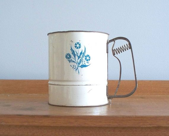 1960's flour sifter  fairy brand australia by pilgrimcottage #vmteam #vintage