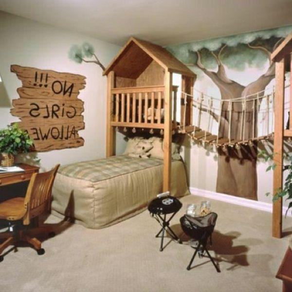 31 idées déco chambre garçon - Archzine.fr | Awesome Wood | Idee ...