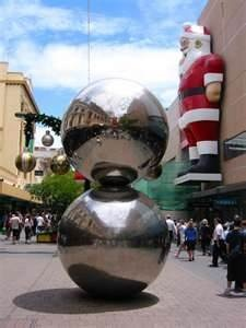 Malls balls. Rundle Mall Adelaide.