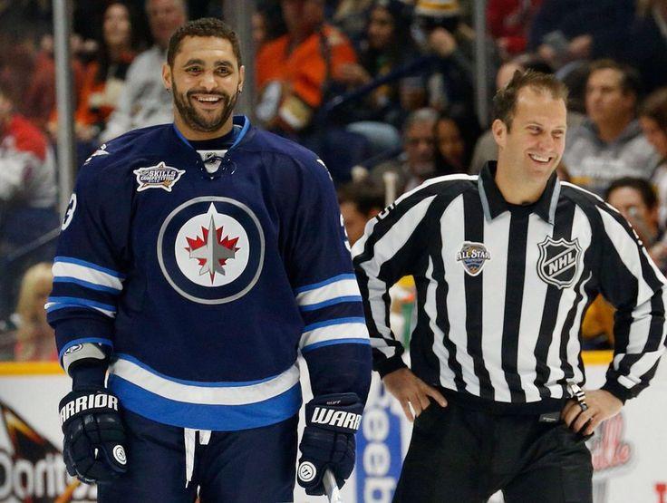 Dustin Byfuglien #33, Winnipeg Jets