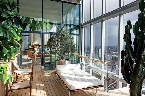 Open space modern penthouse | Daily Dream Decor