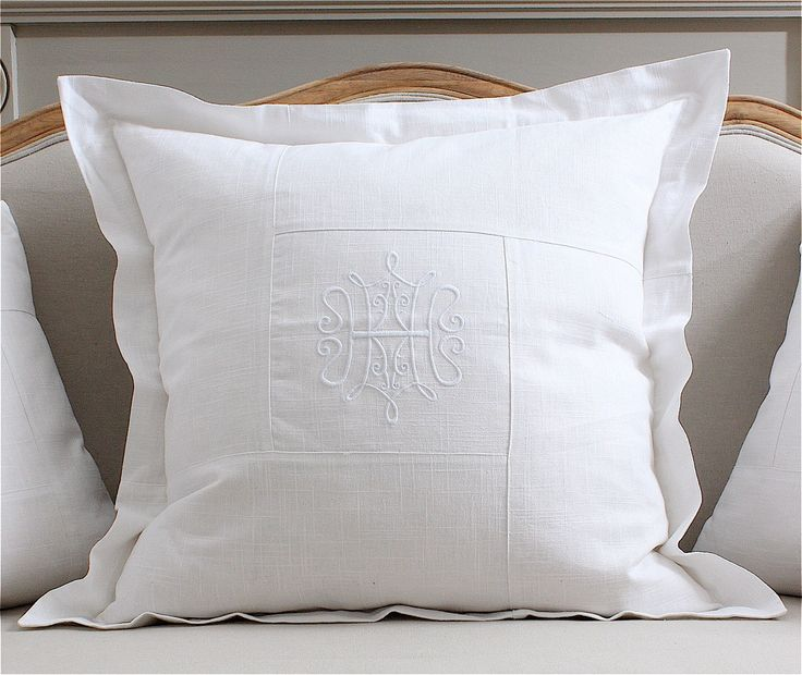 French inspired large embroidered cushion. ‪#‎Stylish‬ ‪#‎Classy‬ ‪#‎HomeDecor‬ See more about this stunning cushion: http://www.pearlgrace.co.uk/product/large-embroidered-motif-cushion
