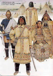 Shawnee Clothing - The Shawnee Indians