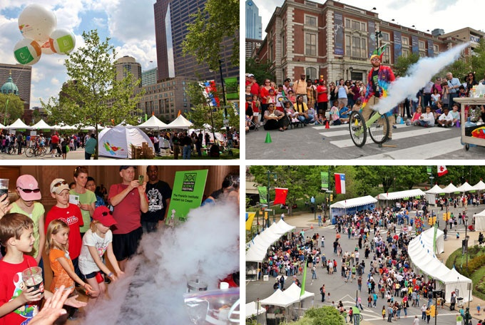 Our Guide To The Philadelphia Science Festival's Free Science Carnival On The Parkway This Saturday, April 20