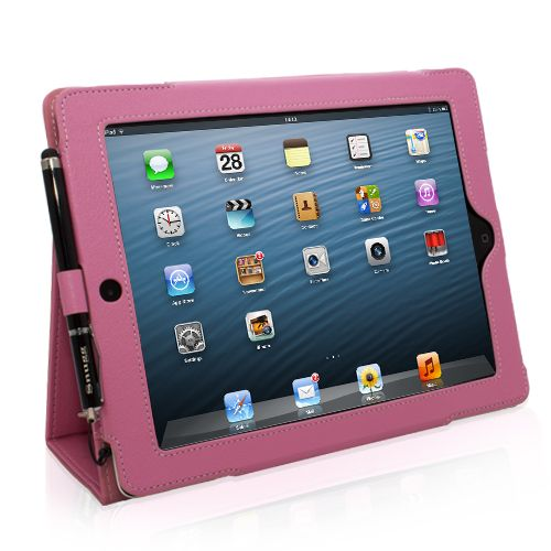 Snugg iPad 4 Case in Pink FaceTime
