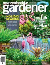 """""""NZ Gardener, the country's top selling gardening magazine, features New Zealand's most beautiful gardens and the people behind them, as well as providing practical ideas and gardening inspiration relevant to all gardeners."""" Free on Zinio (www.rbdigital.com) for Wellington City Libraries members."""