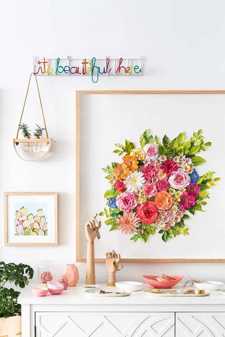 Mondocherry's paper artwork | Home Beautiful Magazine Australia