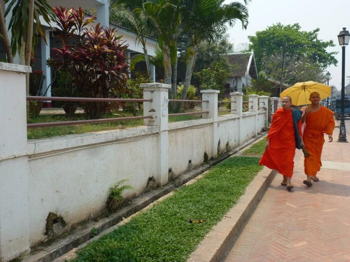 On the streets of Luang Prabang | 2014 Trip Around The World | Off Exploring