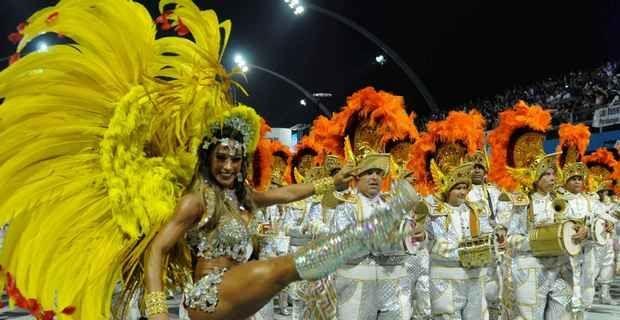 Foto del carnevale 2012 di San Paolo in Brasile