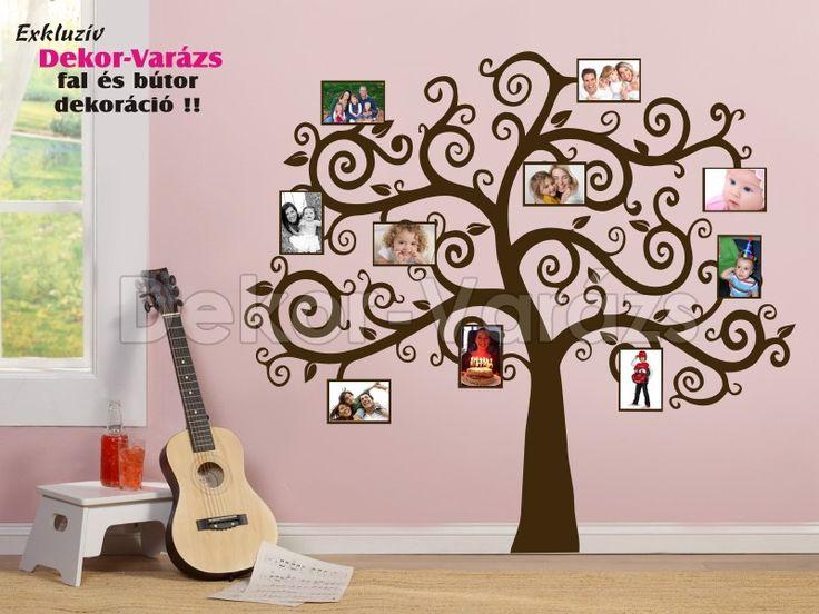 Ötletes életfa fali dekoráció!  https://www.dekor-varazs.hu/termek/5276-16_-eletfa-falmatrica