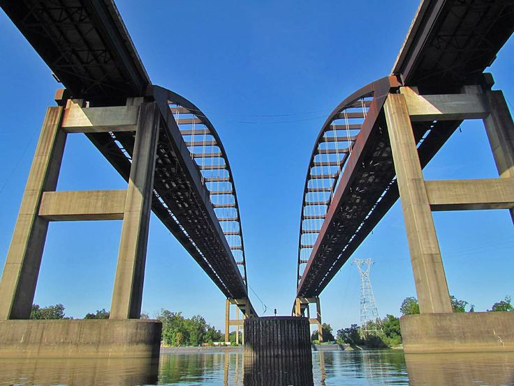 The I 65 Bridge Over Mobile River Is Widely Known As The