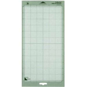 Cricut 29-0003 6-by-12-Inch Adhesive Cutting Mat, Set of 2.  Buy now for $6.83, You Save(74%) limited time offer.