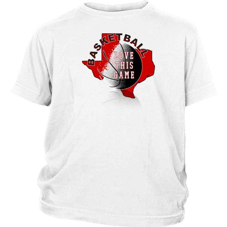 Texas Tech Basketball Love This Game Youth T-Shirt