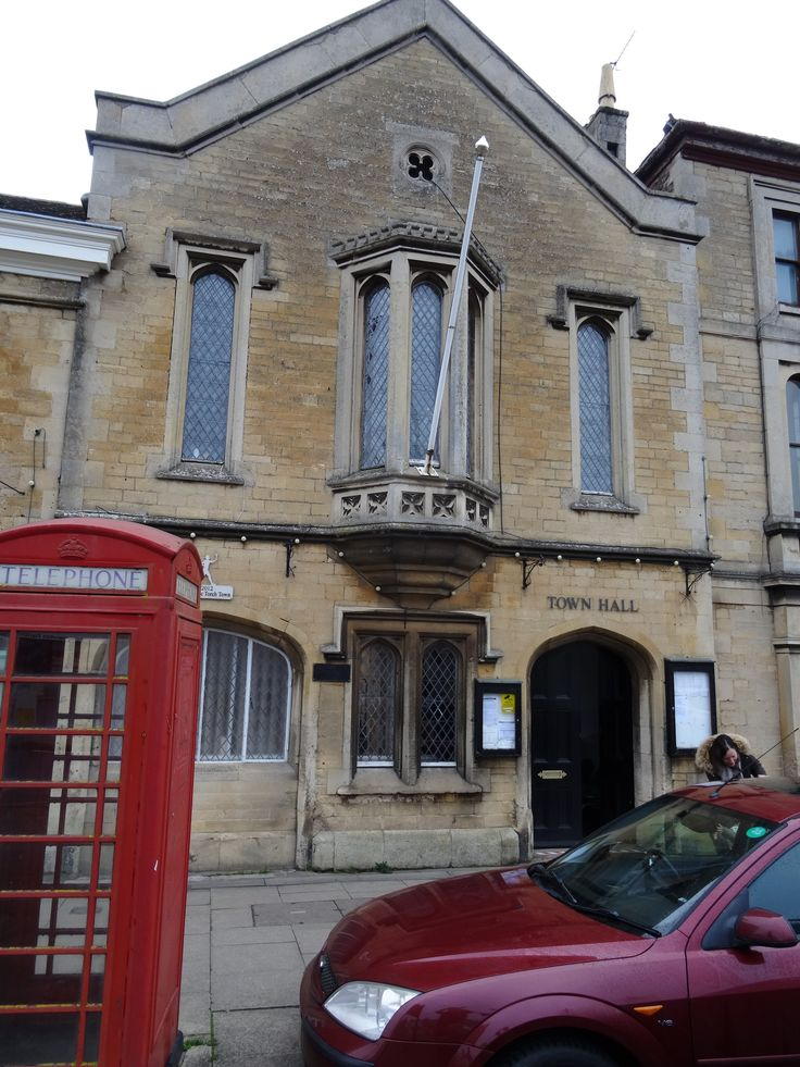Town Hall, Market Deeping, Lincolnshire, UK, by Thomas Pilkington of Bourne