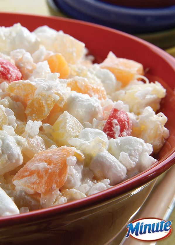 Whip up this Glorified Rice recipe for a Valentine's treat tonight.