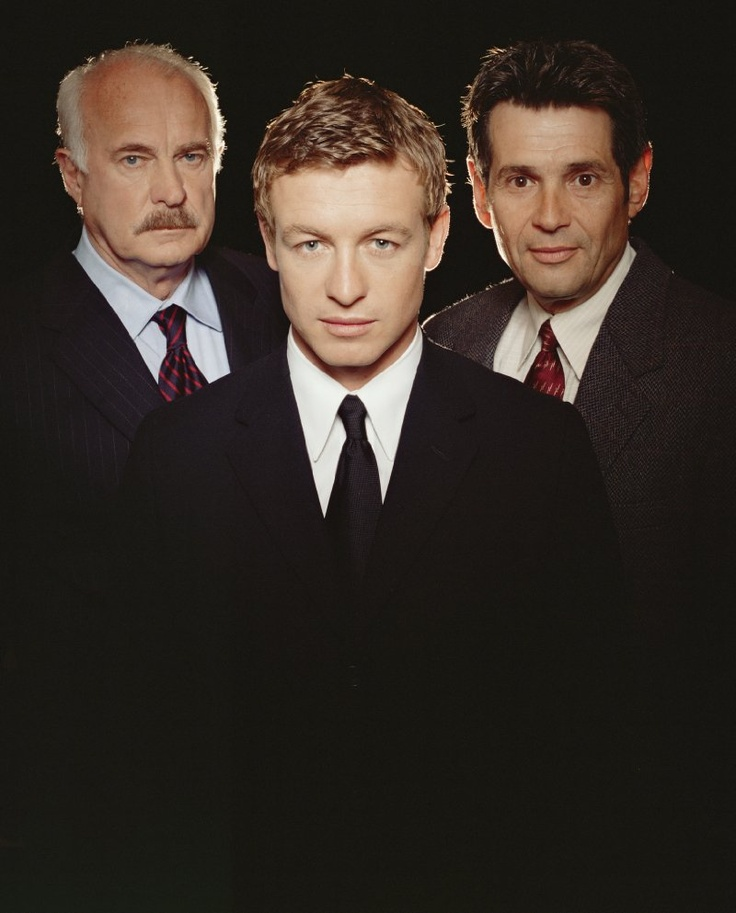 Still of Dabney Coleman, Simon Baker and Alan Rosenberg in The Guardian