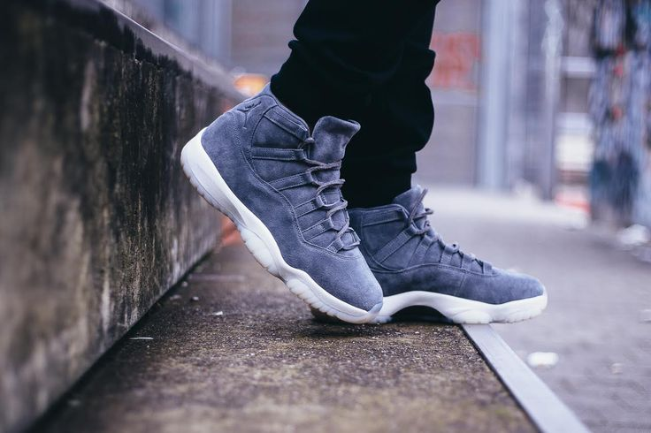 The Air Jordan 11 Suede released today. Did you manage to get a pair?