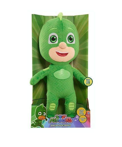 PJ Masks Gekko Stuffed Toys Doll 14 inch Sing and Talk New Hot  #PJmasks