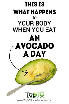 This is What Happens to Your Body When You Eat an Avocado a Day!