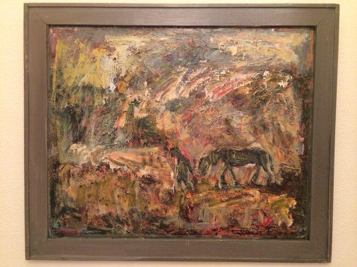 Karimullin Ravkat . Oil on canvas 50/60 cm.