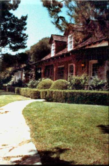 Home of Sharon Tate when she and friends were murdered by the Manson Family in 1969. The house has since been razed.