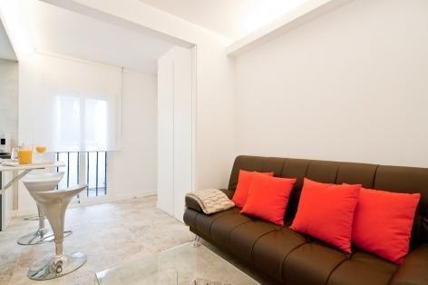 Apartamento1 Habitación en Madrid de alquiler a partir 260 € por semana. With aire acondicionado, Teléfono y Televisión.