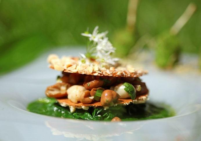 C'est un amoureux des champignons et des saveurs forestières : Régis Marcon - Saint Bonnet le Froid