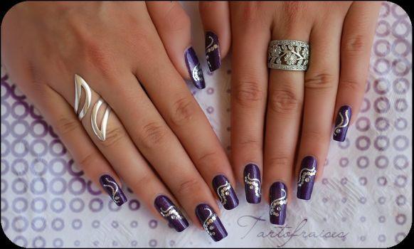 DeviantArt: More Like arabesque nail art by Tartofraises