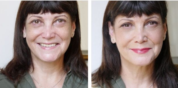 Lady Sonia's before/after by MakeMyBeauty