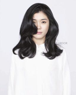 Blacking flow #long #hair #beauty #cut #chahongardor